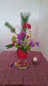 正月 お花